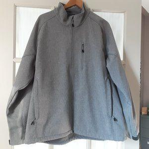 Kirkland Men's Grey Soft Shell Jacket | XXL